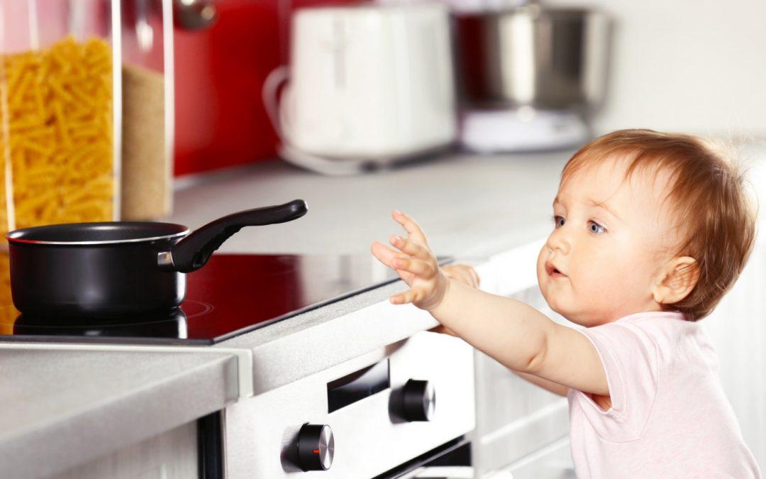Kindersicherheit – Brennpunkt Küche