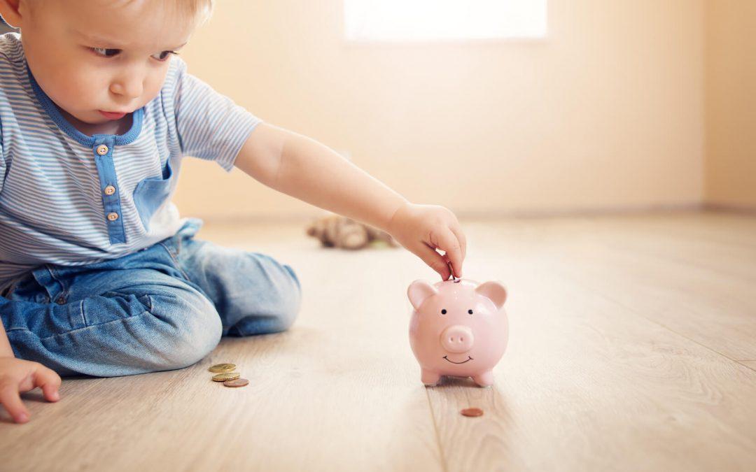 Taschengeld für Kindergarten- & Grundschulkinder