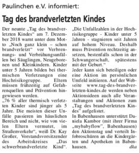 Bauernhäuser Zeitung 7.12.18